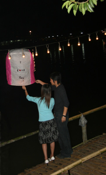 Two Lovers launch a wish