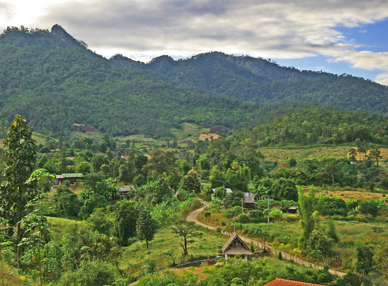 Northern Thailand Hill country