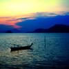 Row Boat at Dusk #6 - Phuket, Thailand