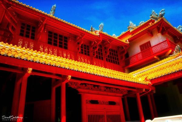 Thai Royal Summer Palace (Bang-Pa-In) View #2 - Phra Nakhon Si Ayutthaya Province, Thailand