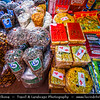 Thailand - Chiang Rai - Golden Triangle - Triangle where 3 countries meet on the confluence of the Ruak and Mekong rivers - Traditional Local Market