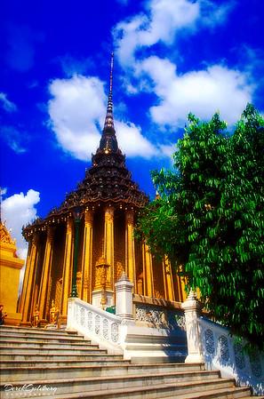 Phra Mondop, Royal Grand Palace Grounds View #1 - Bangkok, Thailand
