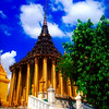 Phra Mondop, Royal Grand Palace Grounds View #1 - Bangkok, Thailand