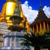 Phra Siratana Chedi, Royal Grand Palace Grounds View #2 - Bangkok, Thailand