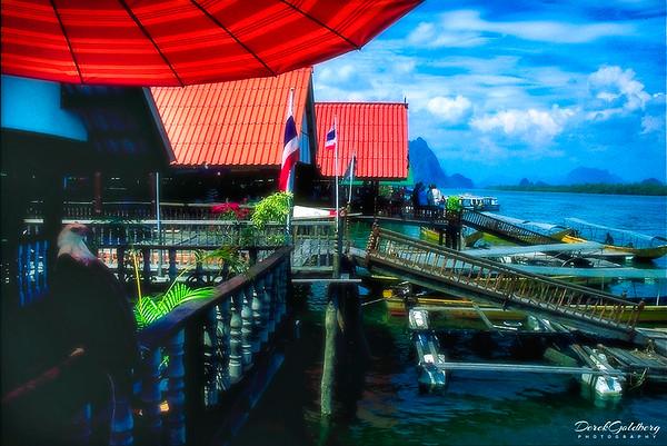 Floating Fishing Village #1 - Andaman Sea, Thailand