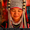 Thailand - Chiang Mai - Long Neck Karen Hilltribe - Long Neck Woman