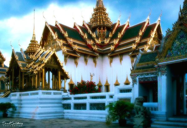 Wat Phra Kaew, Royal Grand Palace Grounds View #1 - Bangkok, Thailand