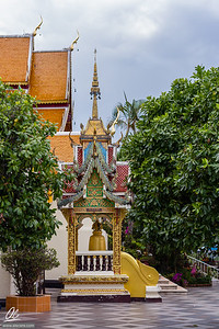 Side view of Wat Phra That Doi Suthep