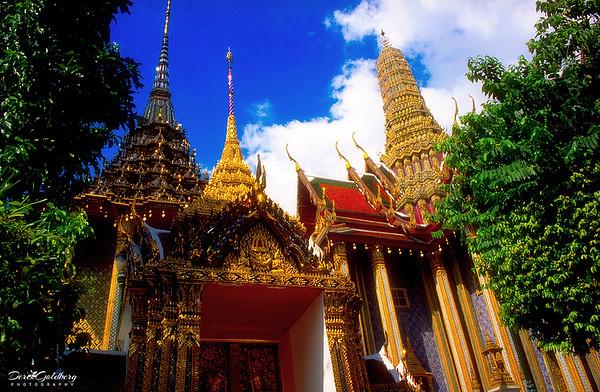 Prasat Phra Dhepbidorn, Royal Grand Palace Grounds View #7 - Bangkok, Thailand