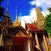 Prasat Phra Dhepbidorn, Royal Grand Palace Grounds View #7 - Bangkok, Thailand