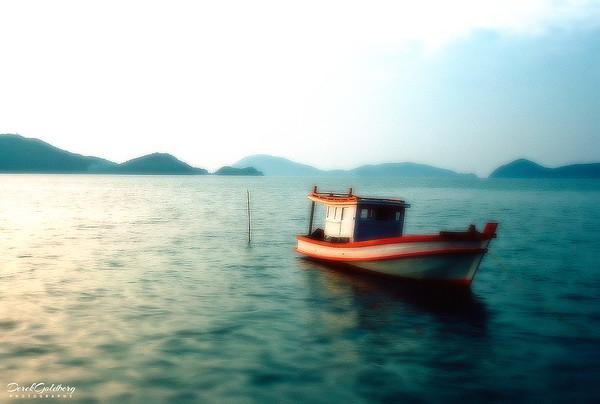 Fishing Boat at Sunset #8 - Phuket, Thailand