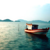 Fishing Boat at Sunset #8 - Phuket, Thailand