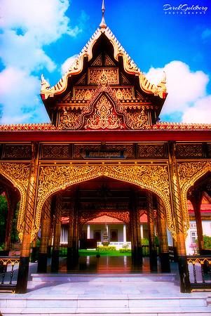 Royal Grand Palace Grounds View #4 - Bangkok, Thailand