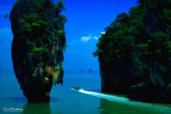 James Bond Island Vista #3 - Phang Nga Bay, Thailand