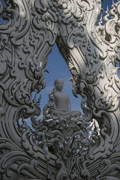 Budda White Temple