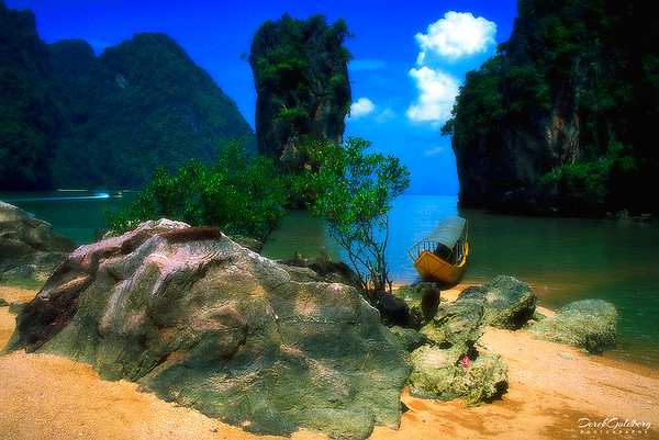James Bond Island Vista #2 - Phang Nga Bay, Thailand
