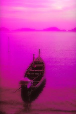 Boat on Water #2 - Phuket, Thailand