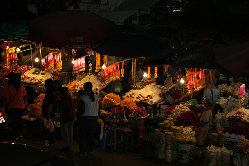 Changmai Flower Market