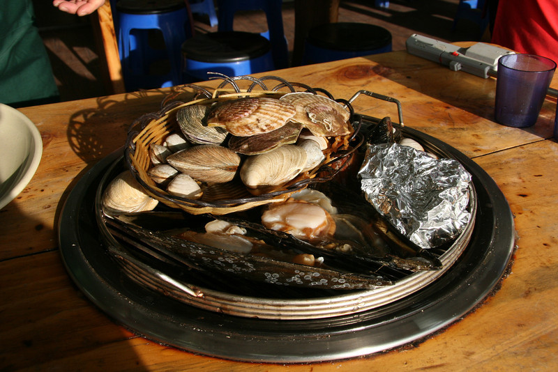 Mussels on the Grill