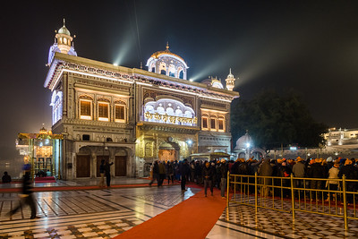 January 2018 - The Golden Temple in Amritsar, India.