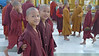 Young monk novitiates at Shwedagon Pagoda