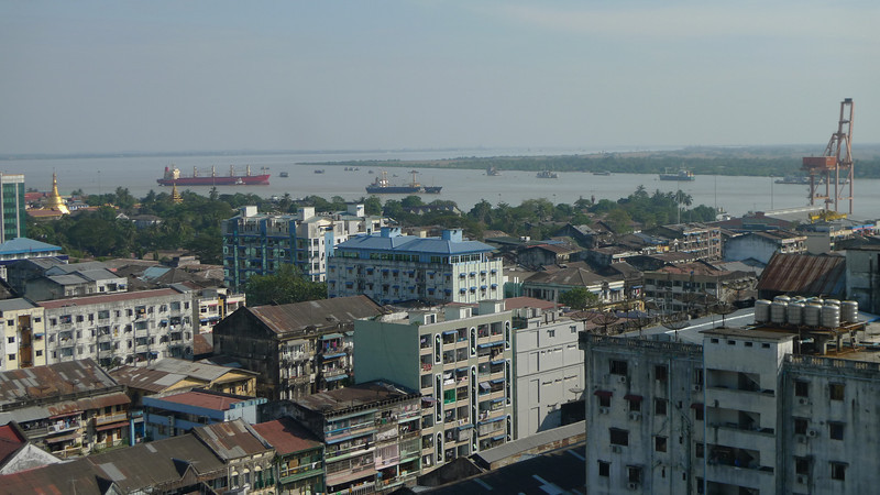 Yangon (Rangoon), Myanmar's largest city.