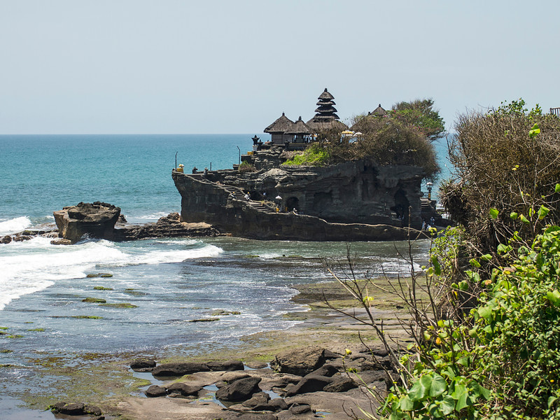 Hindu Sea Temple On Bali