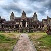 Cloudy Skies At Angkor Wat
