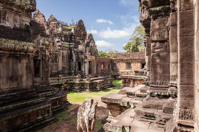 Courtyard At Banteay Samre