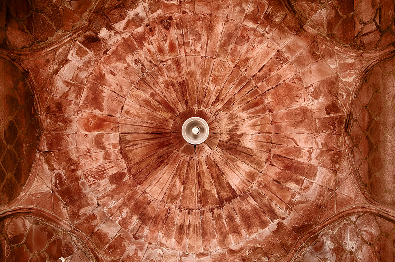 Ceiling Dome In The Jama Masjid Mosque