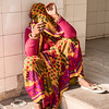 Woman Sitting In The Amber Fort