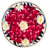 Rose Petals In Bowl, Isolated