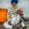 Indian Man With Blue Turban
