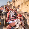 The Road To the Amber Fort
