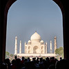 The Taj Mahal From The Great Gate
