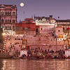 Bathing In The Ganges River Before Dawn