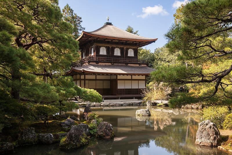Silver Pavilion at Ginkakuji