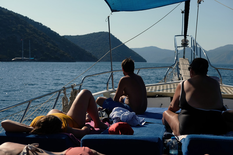 We took an amazing 4 day sailing trip starting from Fethiye and touring the Islands of Göcek. September, 2019.