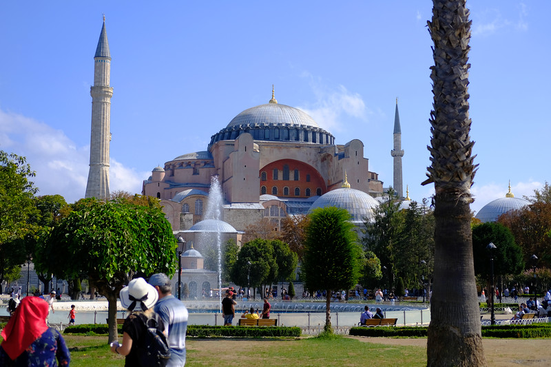 Hagia Sophia, Istanbul. August 2019.