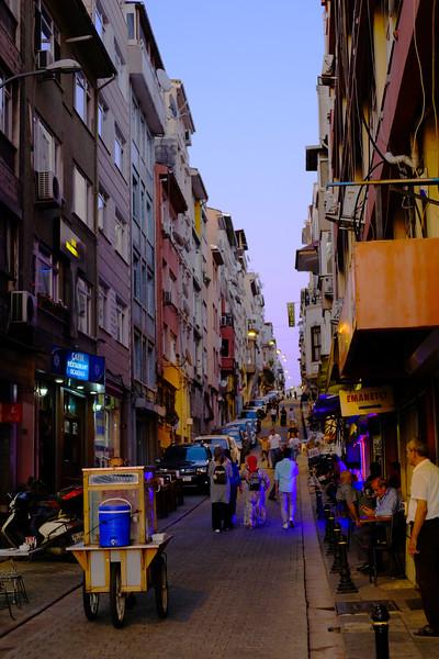 Our street in Kadıköy. Istanbul, August 2019.