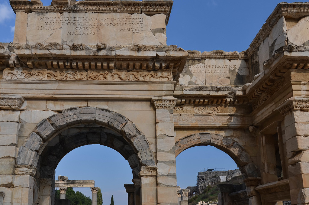 Gate of Augustus, Ephesus