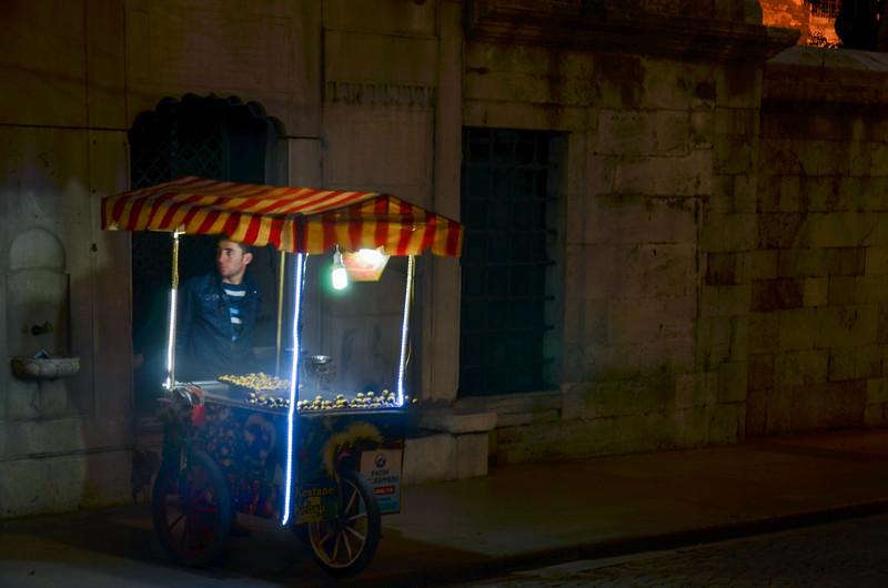 Chestnut Vendor, Istanbul