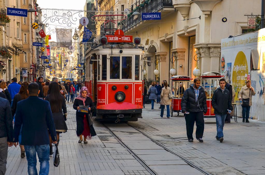 Historic Streetcar, Istanbul