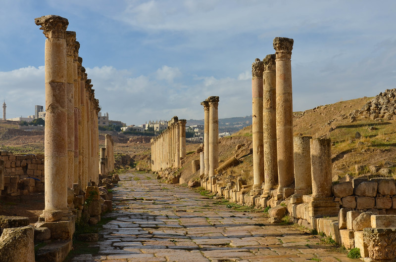 South Decumanus, Jerash