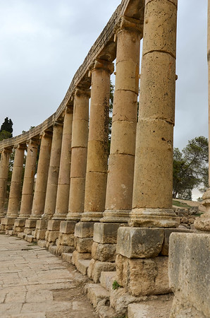 Oval Plaza, Jerash