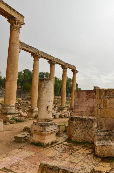 Macellum, Jerash