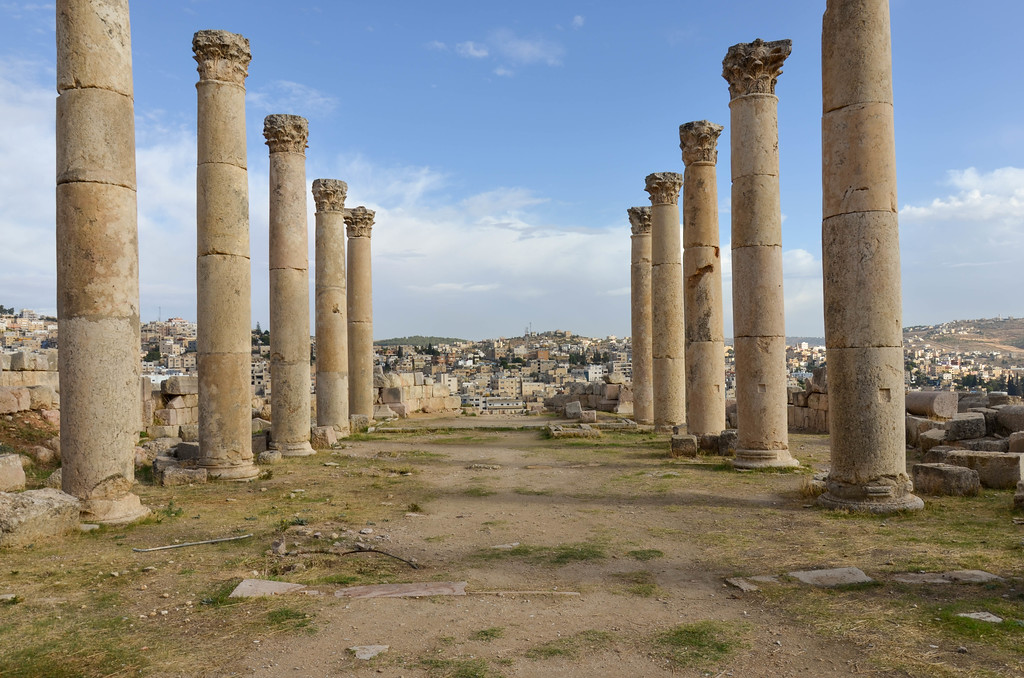 Church, Jerash