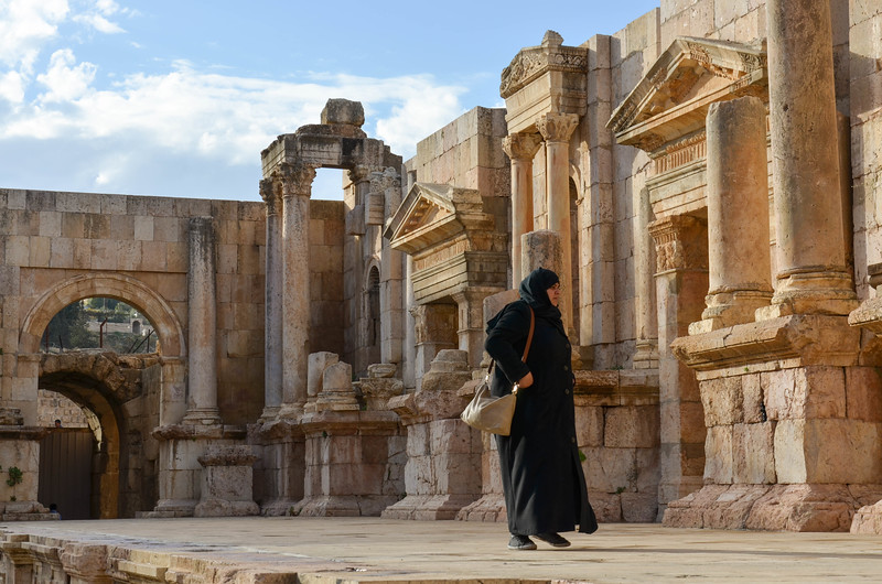 South Theatre, Jerash