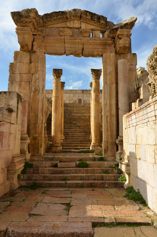 Cathedral Entrance, Jerash