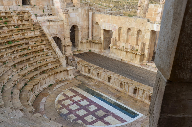 North Theatre, Jerash